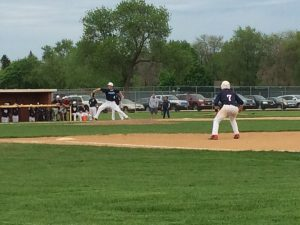 Damasky steals home, baseball wins against Conant