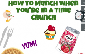 How to munch when you're in a time crunch