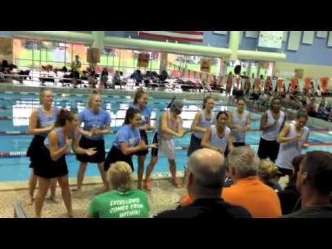 Girls' swimming and diving takes fourth at Hersey Jamboree