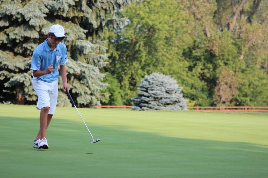 Boys' golf successful homecoming