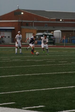 Soccer faces off against Conant