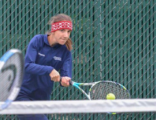 Girls' tennis places second in the east division, looks ahead to next year