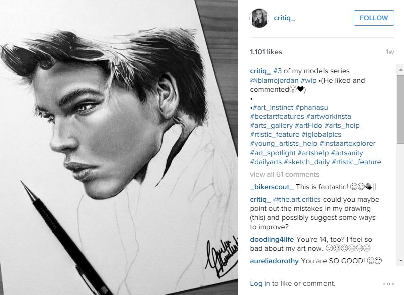 Freshman finds Instagram fame