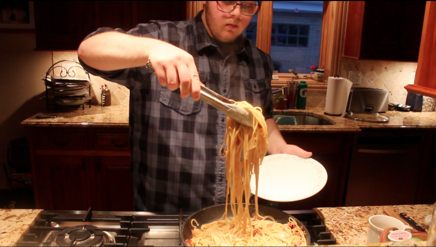 In the kitchen with Mikey Munao