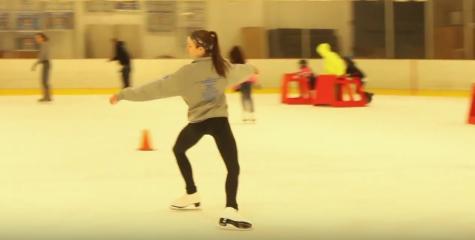 Rebecca Benyk on ice