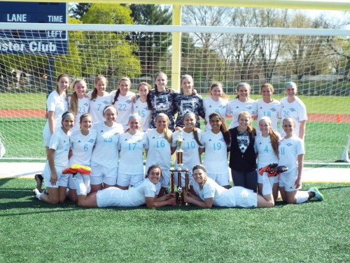 Girls' soccer unbeaten in Knights Invite
