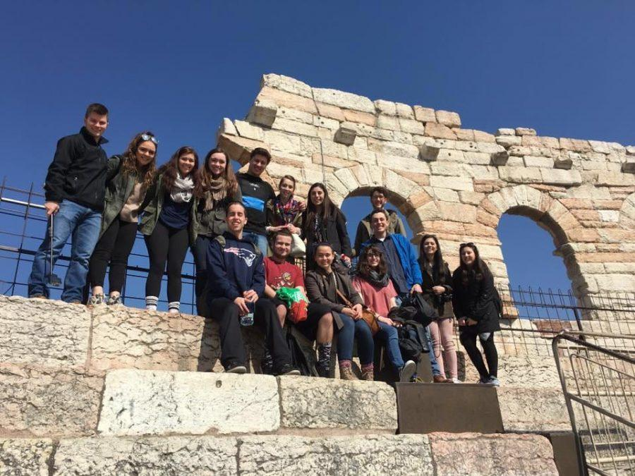 Students travel to Italy for Spring Break exchange