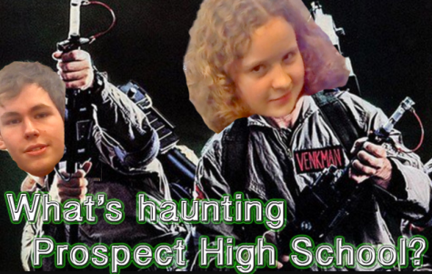 What's haunting Prospect High School?