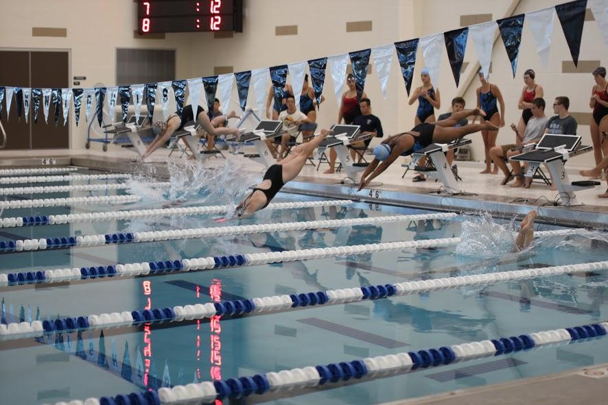 Swimming and diving head to state, meet personal goals