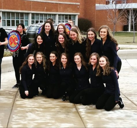 Dance team places second at sectionals, heads to state