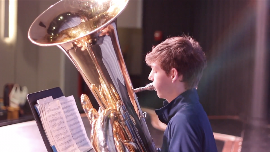 Sophomore makes Prospect history, leads ILMEA district band