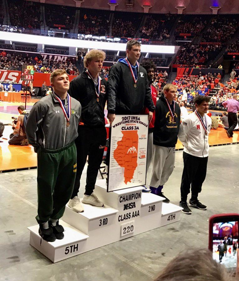 Wroblewski wins state championship for wrestling