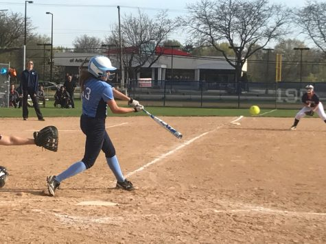 Waterbreak Interview with girls' softball player junior Lauren Caldrone