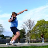 Boys' track finishes third at Wanner Invite