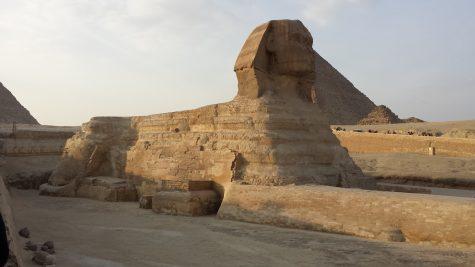 Junior looks back on time in Egypt