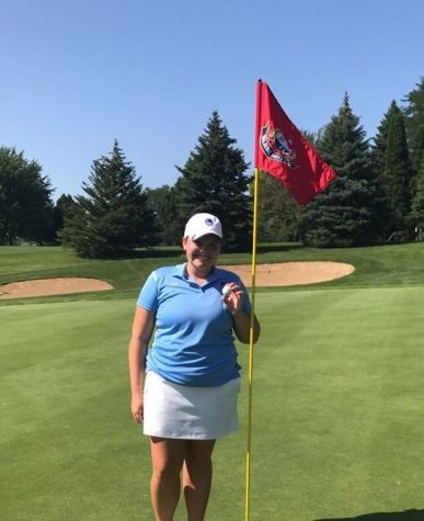 Junior golfer gets hole-in-one