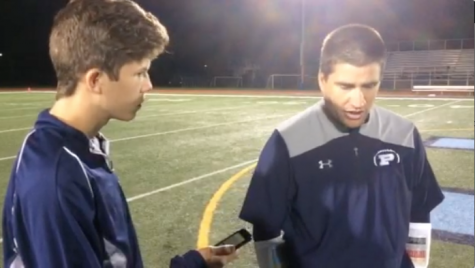 Postgame interview with head football coach Mike Sebestyen: 9/1