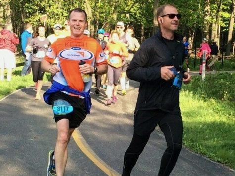 Teachers find joy in running marathons