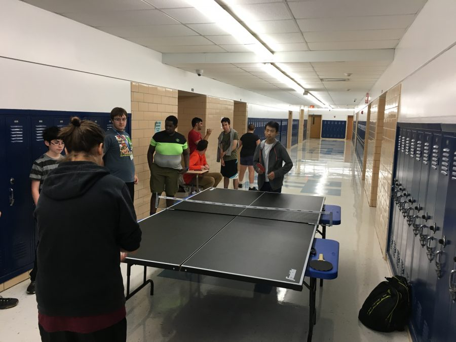 Ping+pong+club+hosts+first+meeting