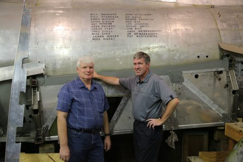 AH native builds World War II bomber plane
