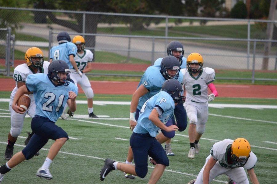 Freshmen+Football+close+out+Elk+Grove