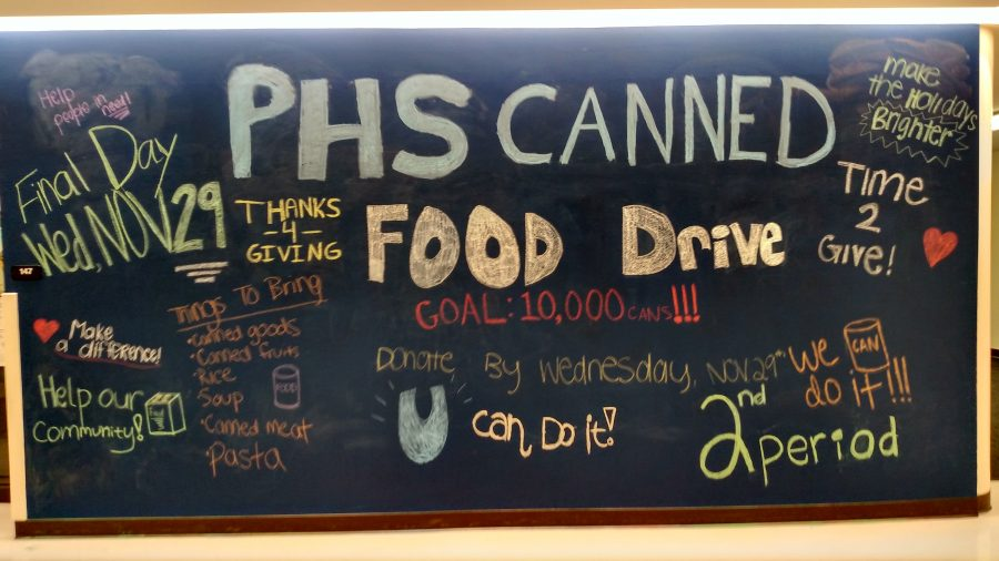 Food+drive+brings+community+together