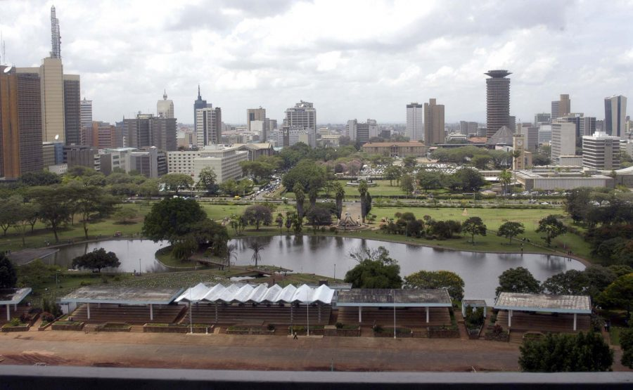 CITY VIEW FROM UHURU PARK NAIROBI FREDRICK ONYANGO