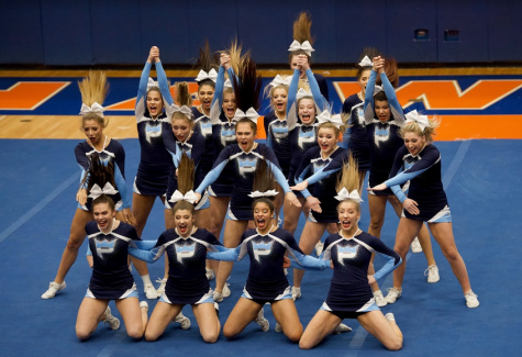 Cheer team places at conference