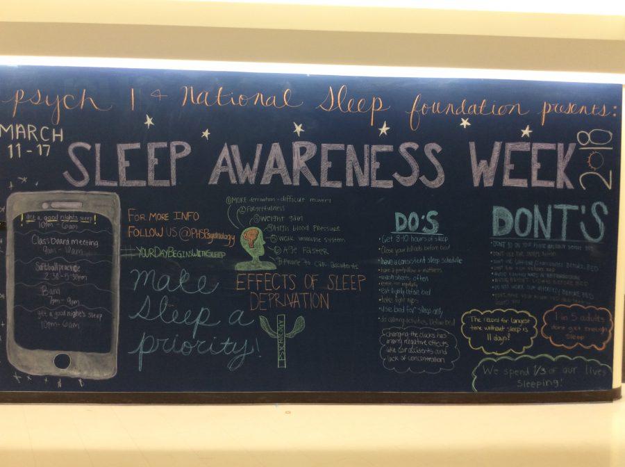 Psychology celebrates National Sleep Awareness Week