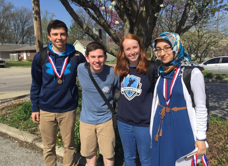 Prospector staff travels to state