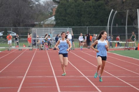 Girls' Track and Field places third at sectional meet