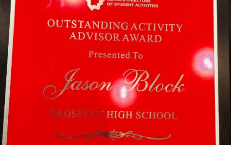 Block wins outstanding activity advisor award