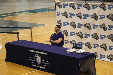 Enes Kanter talks basketball at Prospect