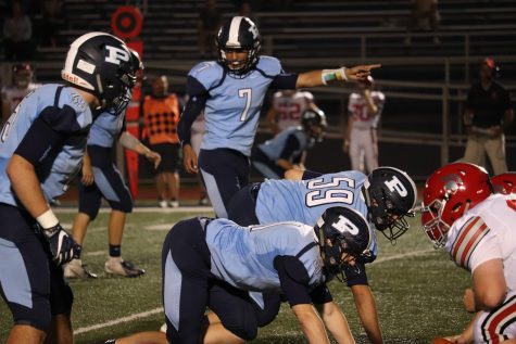 Football falls to Hersey in first conference game