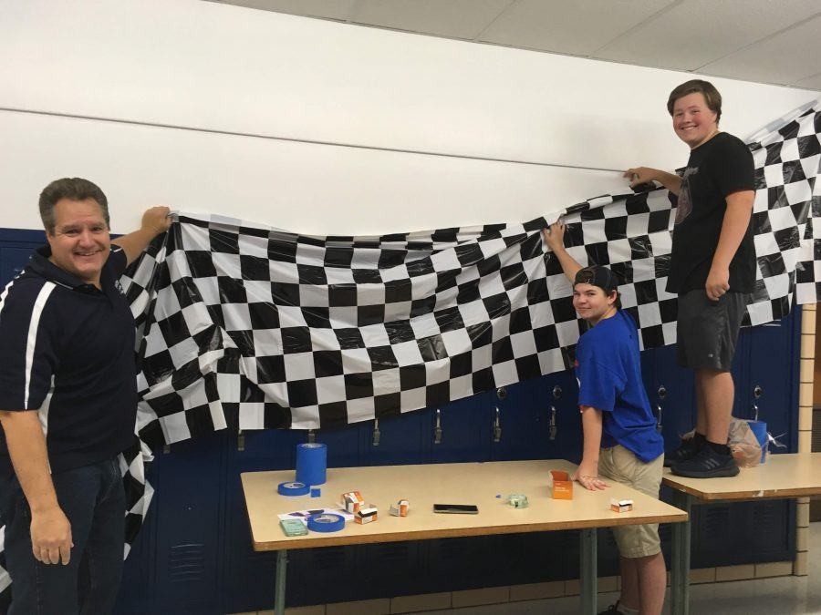 Photo Album: Class boards decorate halls for homecoming week