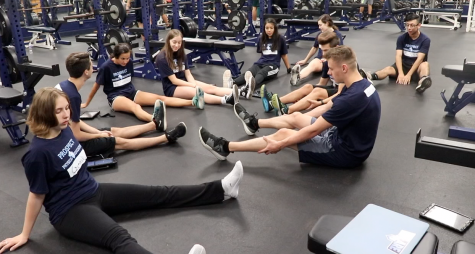 Personal training P.E. class makes way to Prospect