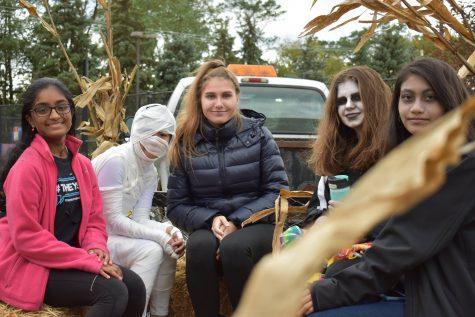 Locals enjoy Halloween festivities at Prospect Heights