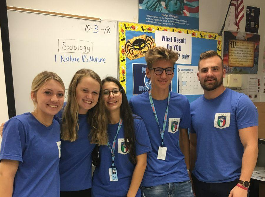 thirteenth annual Italian exchange comes to prospect