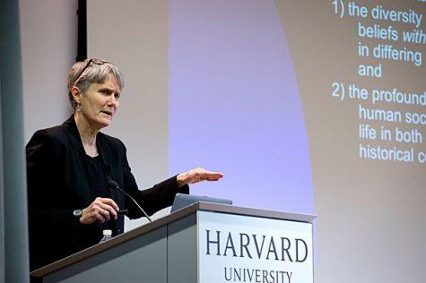 HarvardX for Allston - Faculty Speaker Series:  Professor Diane Moore spoke on: Understanding Religions Through Their Scriptures at the Harvard Education Portal.  Rose Lincoln/Harvard Staff Photographer