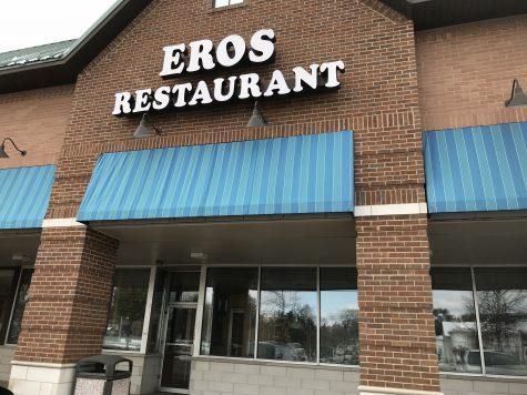 Local restaurant Eros closed