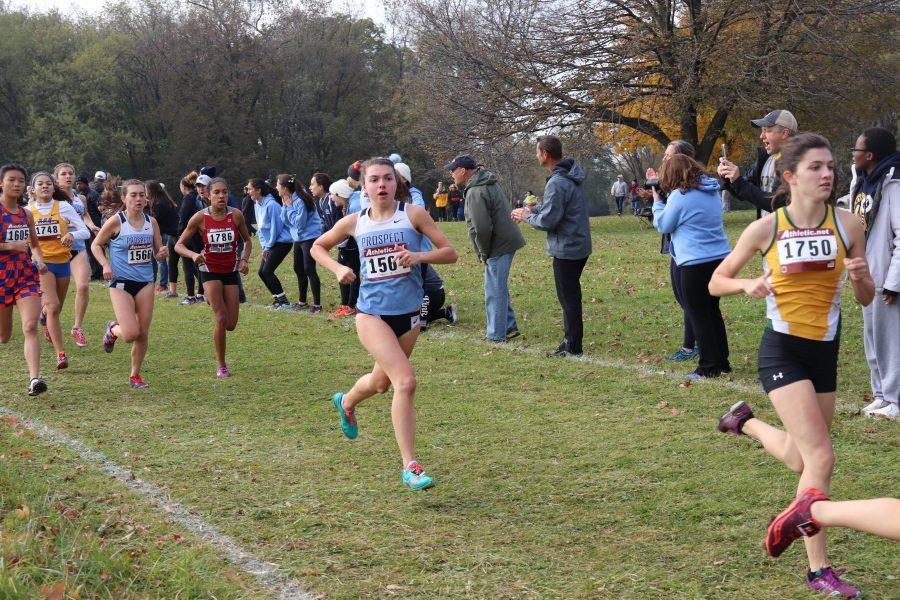 Girls' Cross Country Places 11th at state meet