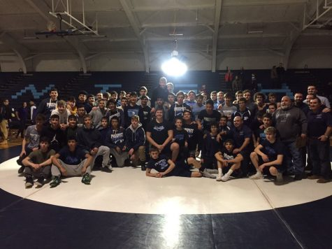 Wrestling Wins MSL East, places third in conference meet