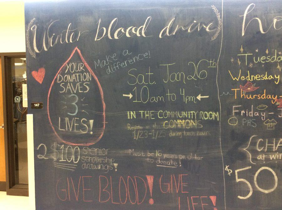 Winter blood drive takes place at prospect