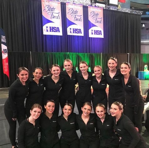 Dance team competes at state fourth year in a row