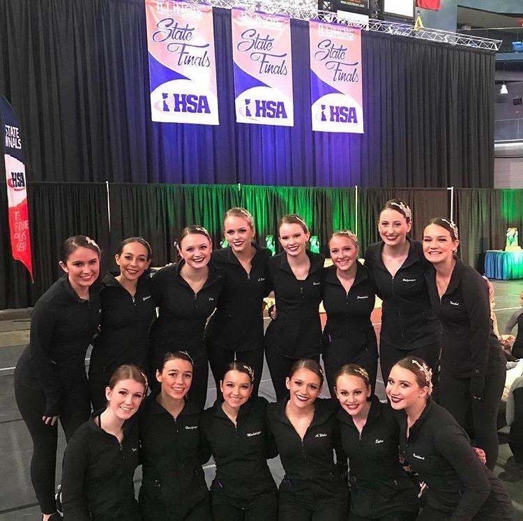 Dance+team+competes+at+state+fourth+year+in+a+row
