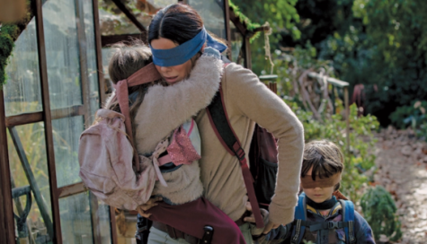 Bird Box viewing doesn't require blindfold