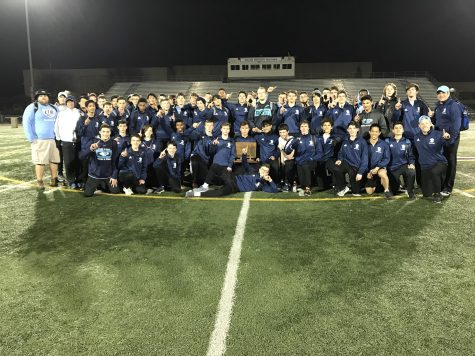 Boys Track and Field Wins MSL East Title