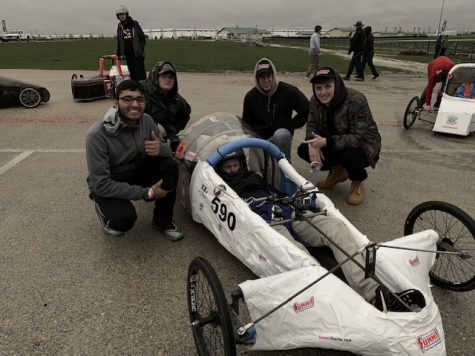 Students steer to success with homemade car
