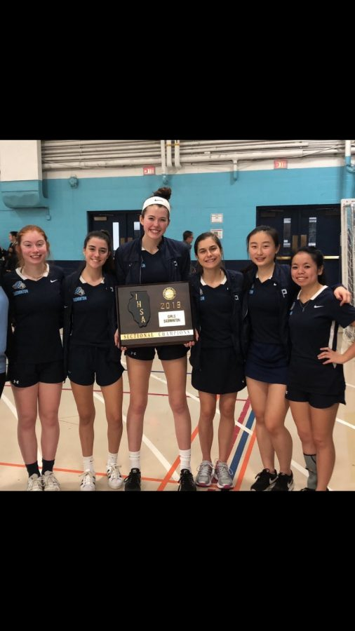 Badminton wins sectionals, qualifies for state