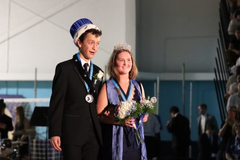 Ella Knee and Alex Lasky named Homecoming Queen and King